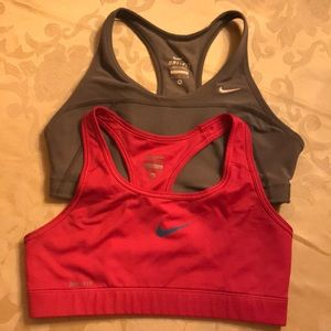 Nike Dri-Fit Size Medium Sports Bra
